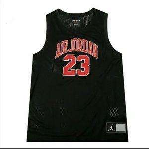 Nike Jordan (DNA) Mens Size 2XL Black Mesh Jersey